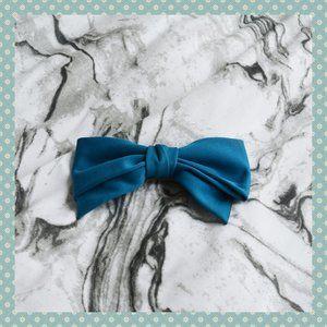 Large Blue Hair Bow